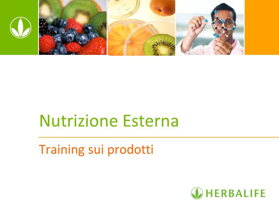Nutrizione Esterna Training sui prodotti