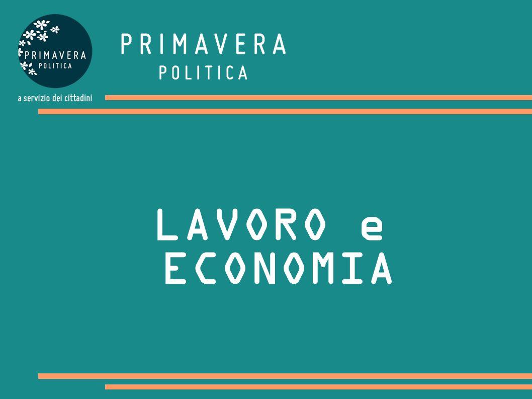 LAVORO e ECONOMIA