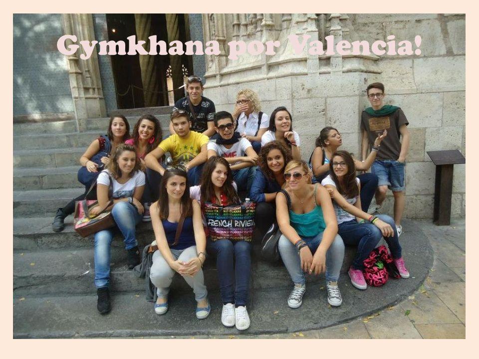 Gymkhana por Valencia!