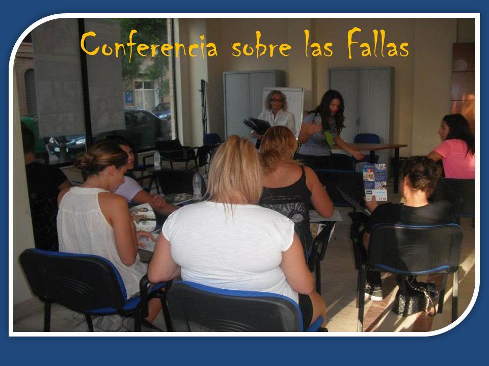 Conferencia sobre las Fallas