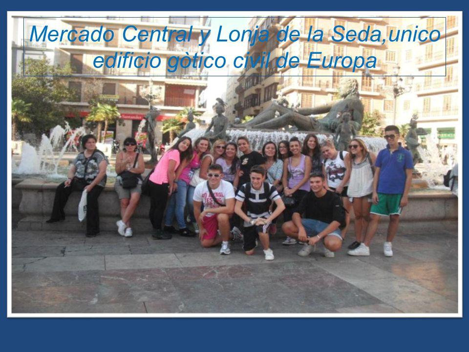 Mercado Central y Lonja de la Seda,unico edificio gòtico civil de Europa