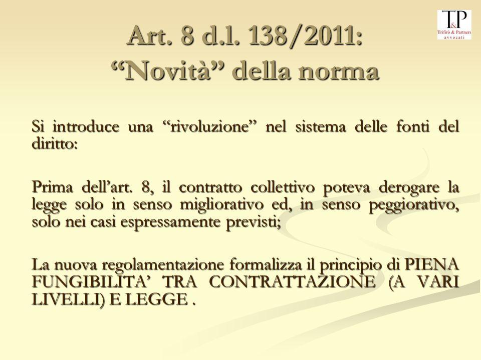 Art.8 d.l.