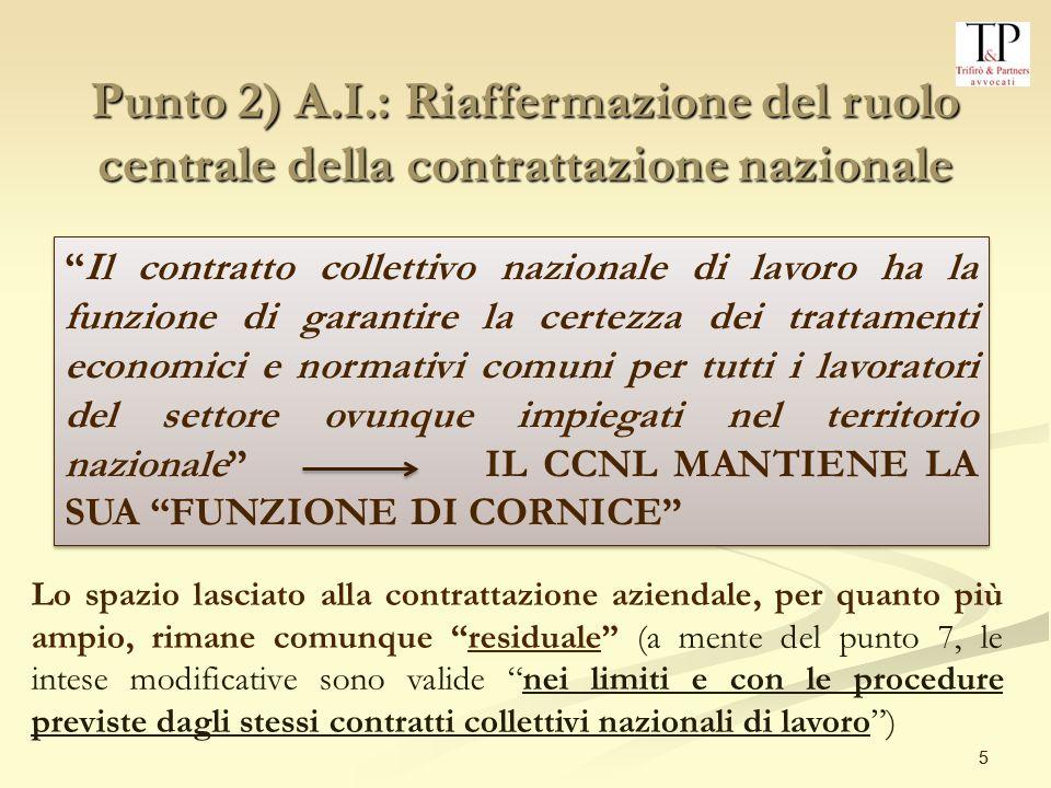 Eventuali spazi di deroga della norma italiana per aspetti non delegati alla contrattazione: Art.