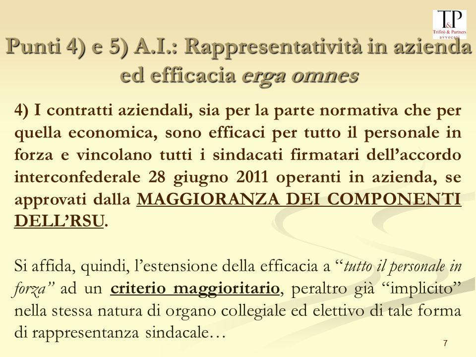 48 A)Impianti audiovisivi – introduzione nuove tecnologie Statuto dei Lavoratori (Legge n.