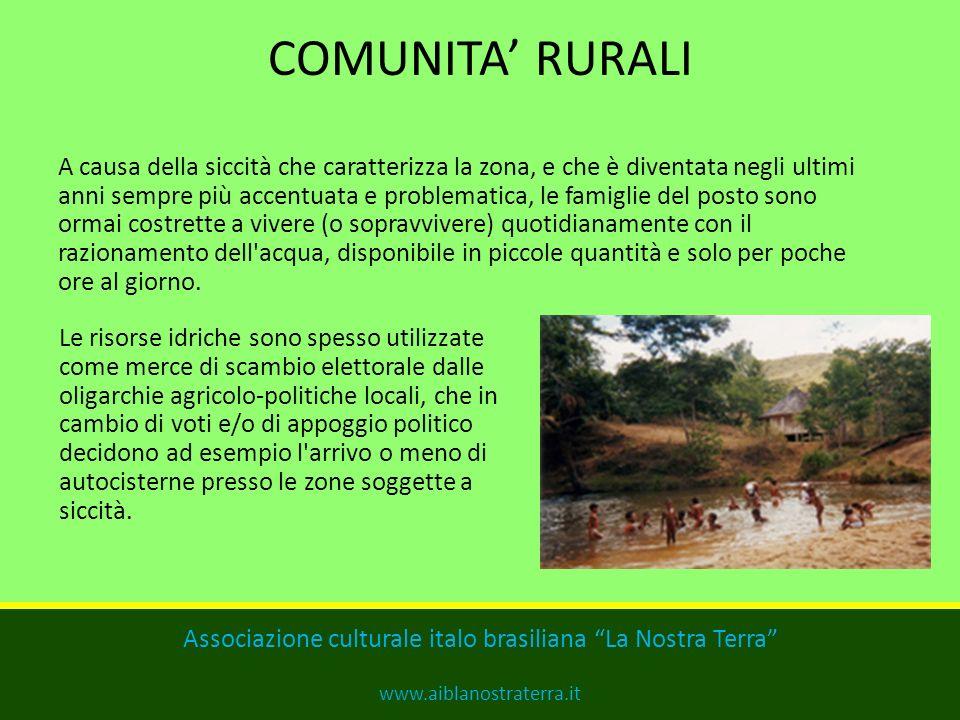 Problematiche: -La secchezza dei fiumi, che dovrebbero garantire la qualità e la quantità di acqua per la sopravvivenza della popolazione locale; -Il