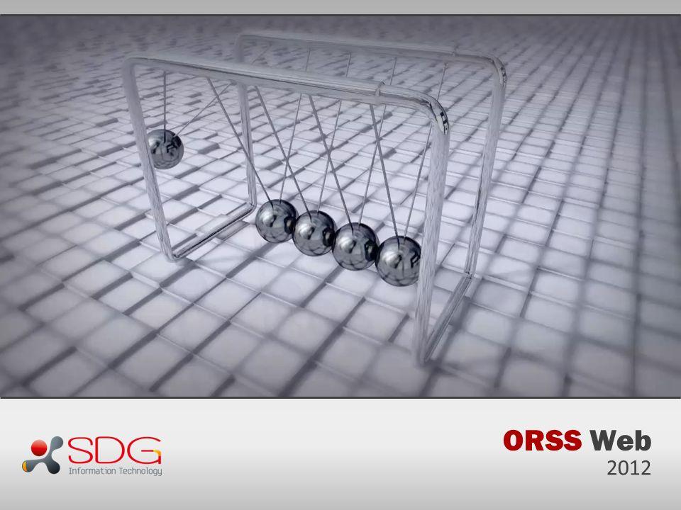 ORSS Web 2012