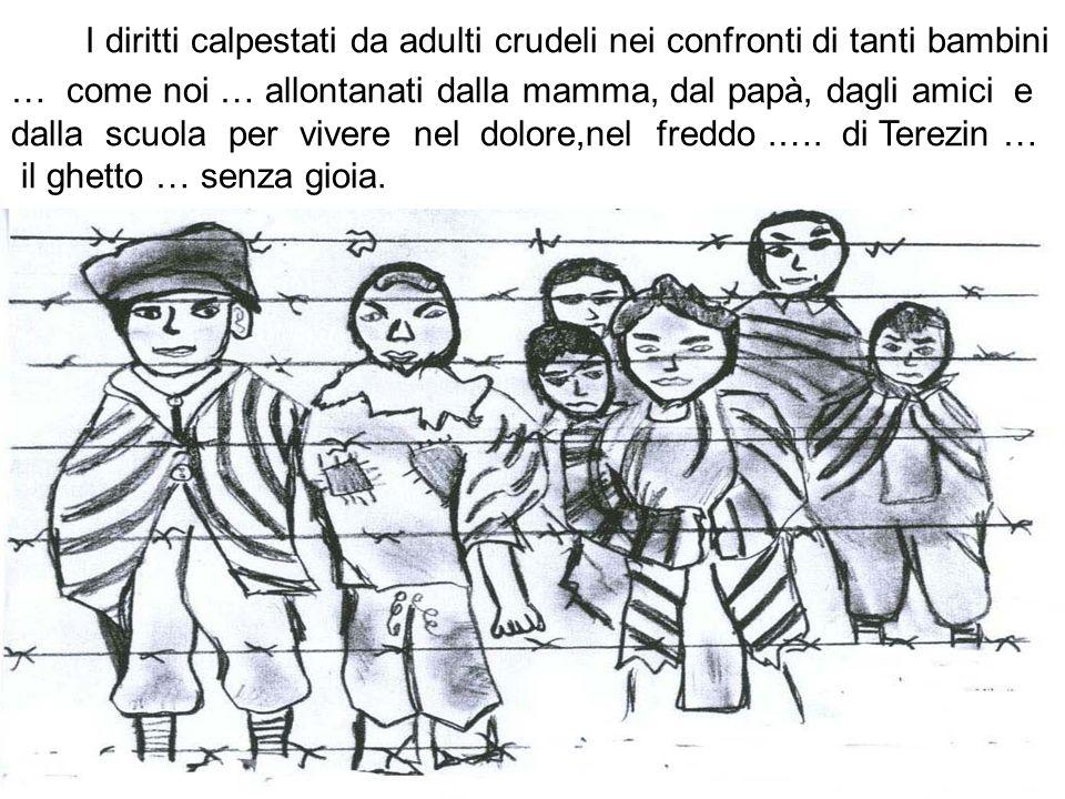 I diritti calpestati da adulti crudeli nei confronti di tanti bambini … come noi … allontanati dalla mamma, dal papà, dagli amici e dalla scuola per v