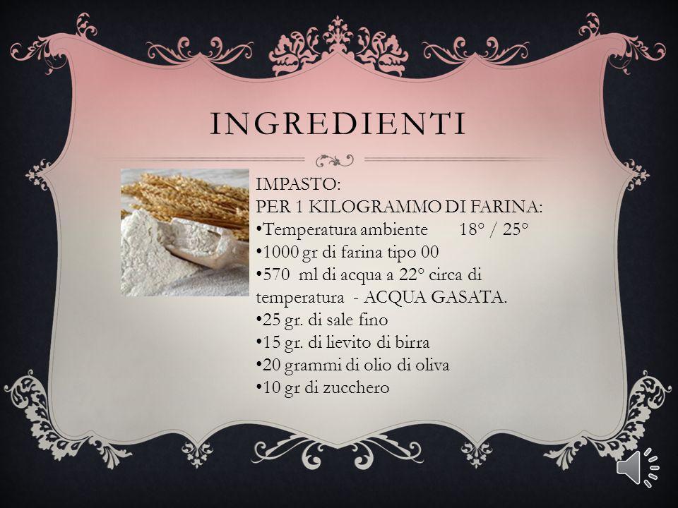 Continuare la farcitura del cono alternando alla mozzarella la polpa di pomodoro ed i gusti prescelti ( prosciutto funghi carciofi.