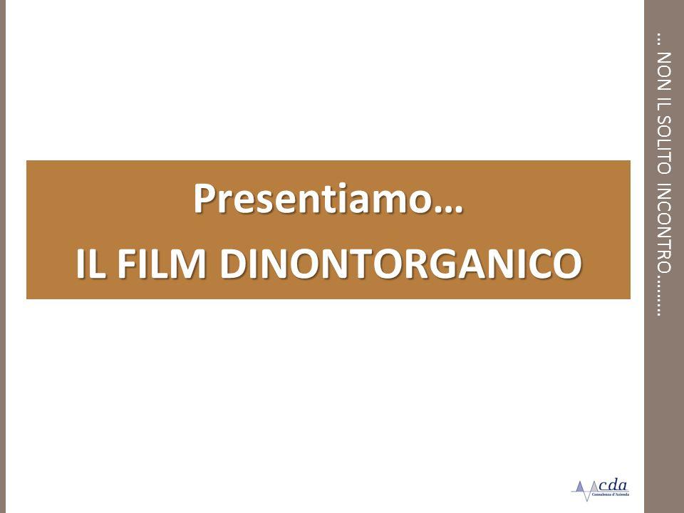 … NON IL SOLITO INCONTRO……… Presentiamo… IL FILM DINONTORGANICO