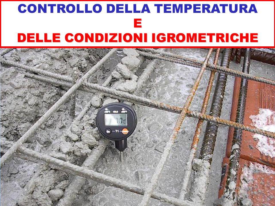 CONTROLLO DELLA TEMPERATURAE DELLE CONDIZIONI IGROMETRICHE