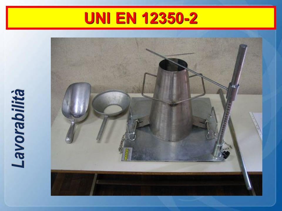 Lavorabilità UNI EN 12350-2