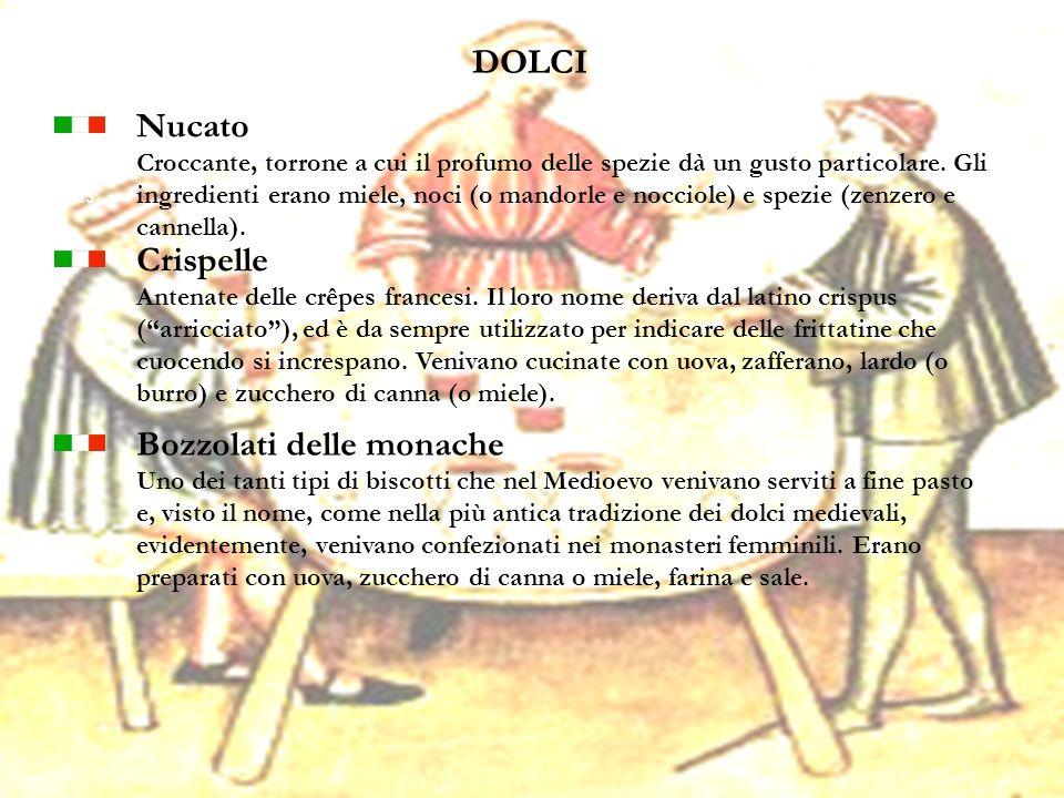 23 DOLCI Nucato Croccante, torrone a cui il profumo delle spezie dà un gusto particolare. Gli ingredienti erano miele, noci (o mandorle e nocciole) e