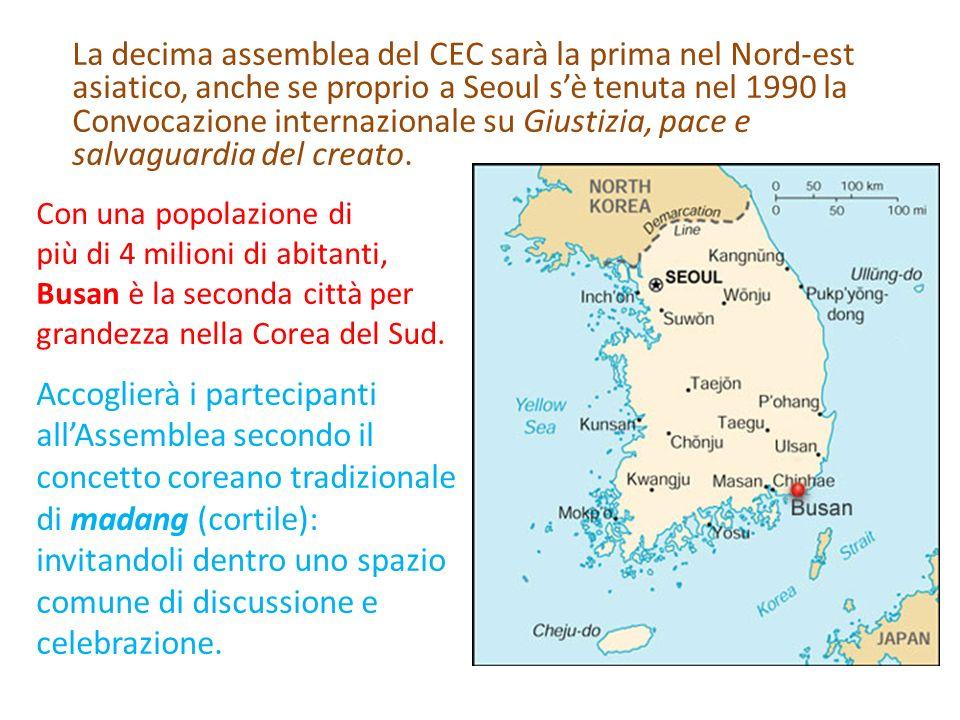 La decima assemblea del CEC sarà la prima nel Nord-est asiatico, anche se proprio a Seoul sè tenuta nel 1990 la Convocazione internazionale su Giustiz