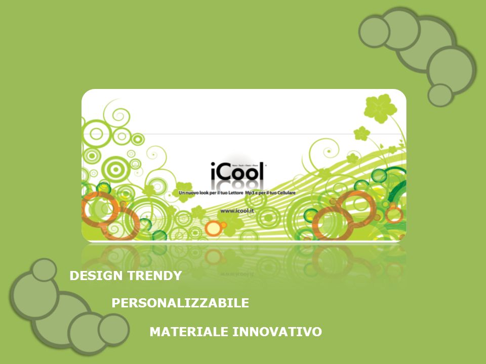 DESIGN TRENDY MATERIALE INNOVATIVO PERSONALIZZABILE