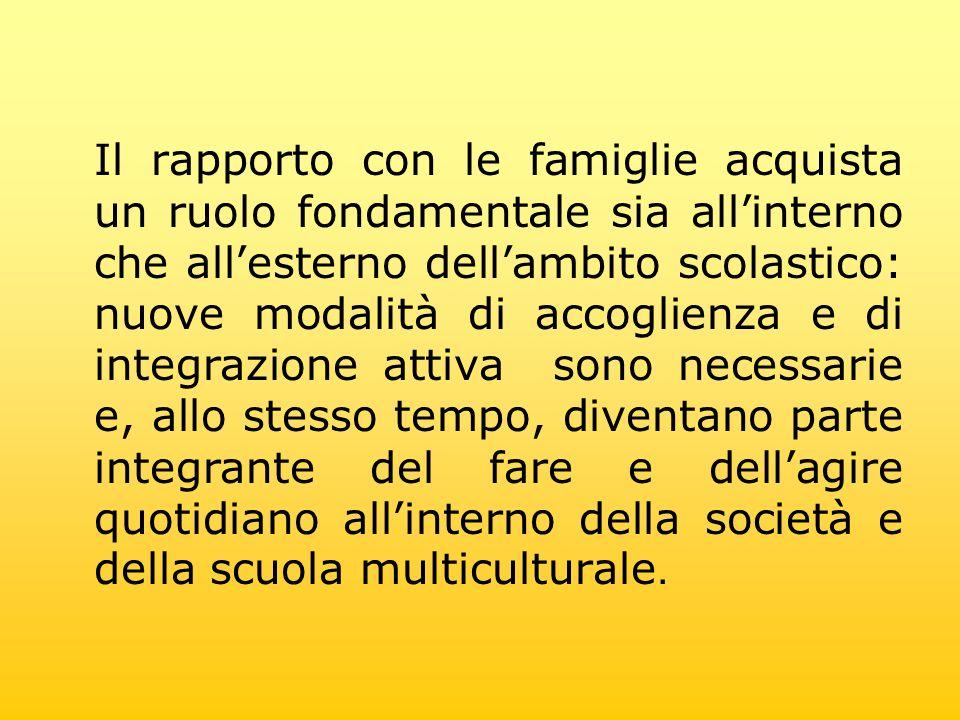 Il progetto è teso a favorire lincontro tra la famiglia e la scuola attraverso la narrazione ed il racconto diretto da parte dei genitori, di brevi storie, filastrocche e ninnananne della tradizione culturale italiana e non.