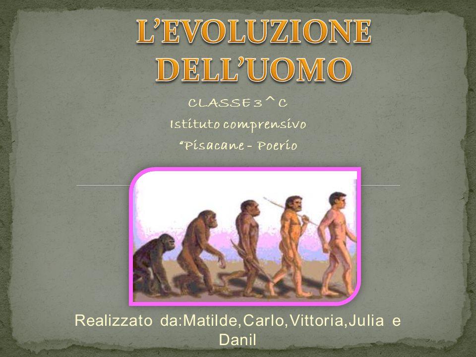 CLASSE 3^C Istituto comprensivo Pisacane - Poerio Realizzato da:Matilde,Carlo,Vittoria,Julia e Danil