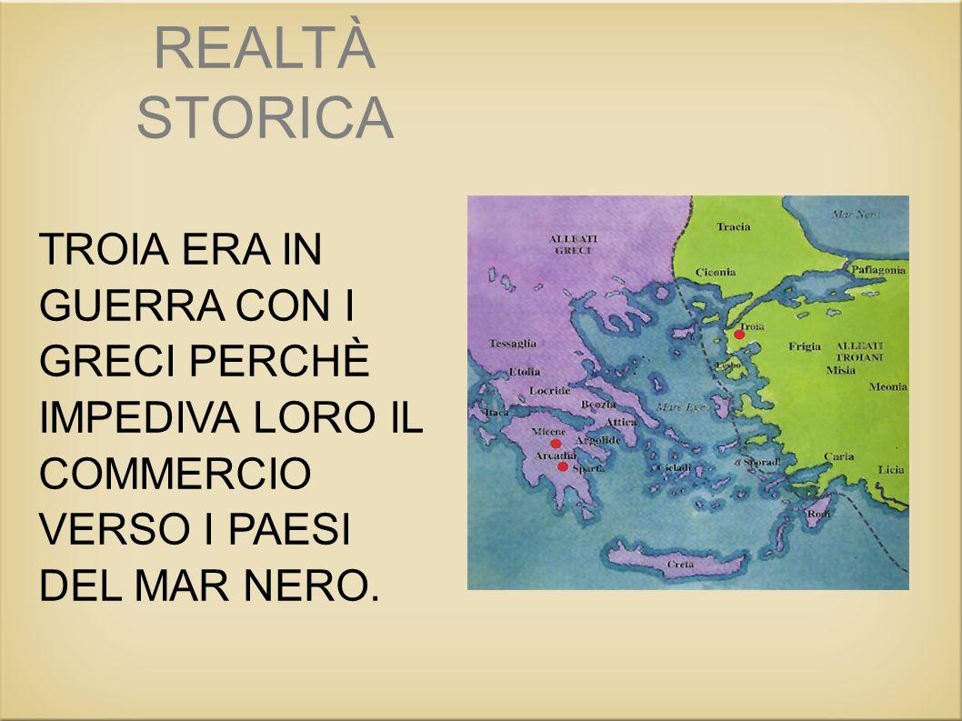 Gli eroi troiani Priamo È il vecchio re di Troia. La sua città è destinata ad essere distrutta.