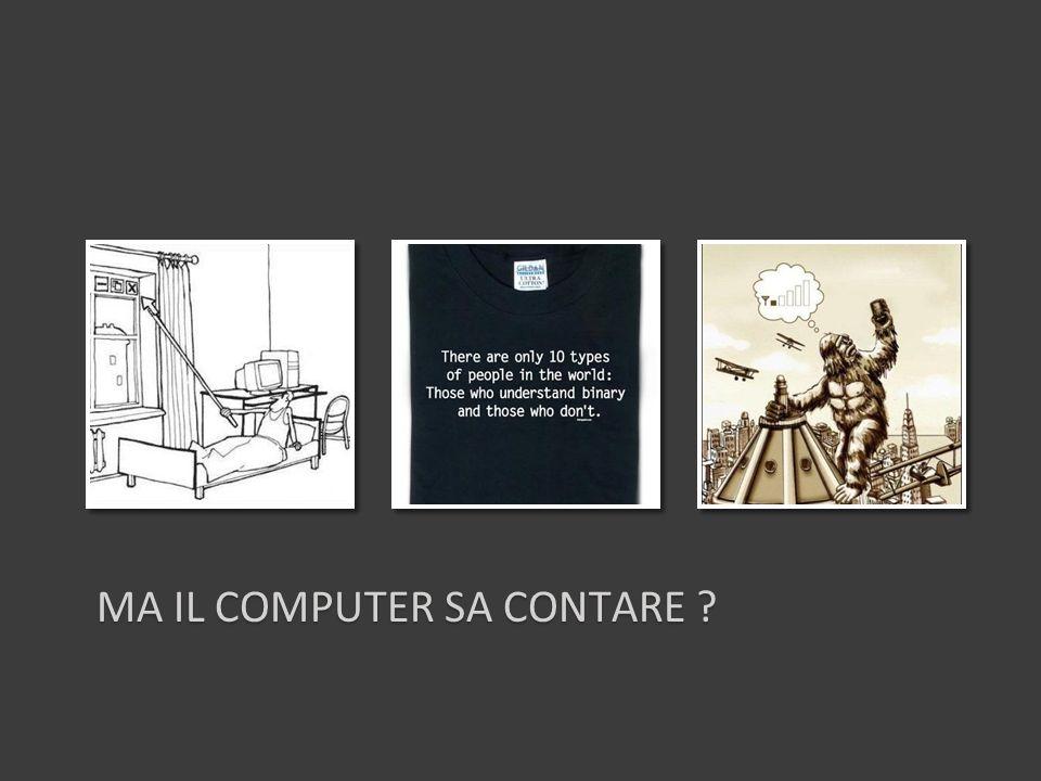 MA IL COMPUTER SA CONTARE ?