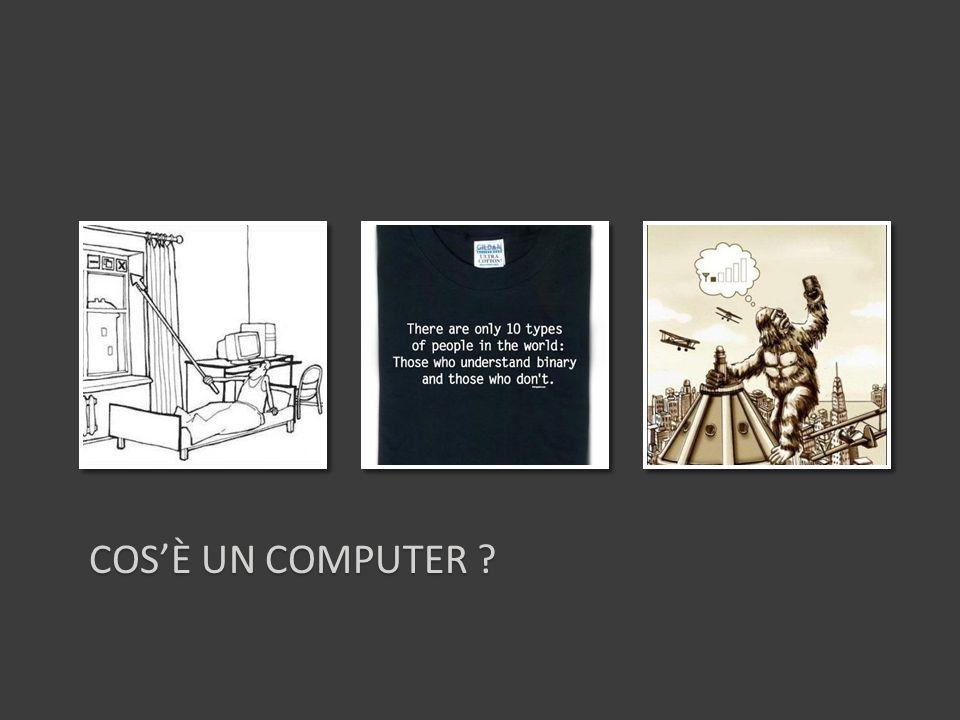 COSÈ UN COMPUTER ?
