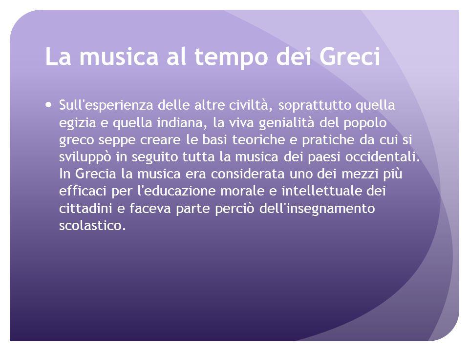 Musica nellantica Grecia