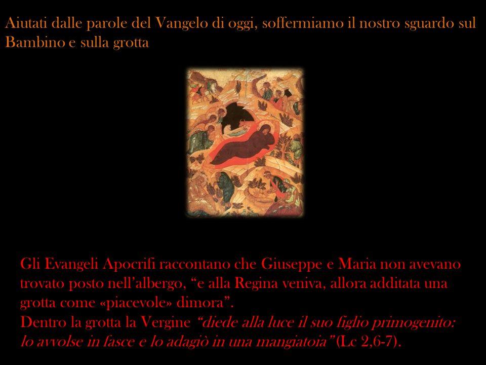 Una bella lettura spirituale dellimmagine della mangiatoia dice che quando luomo fu scacciato dallEden, come dice la Scrittura, era rivestito di pelle di animale.