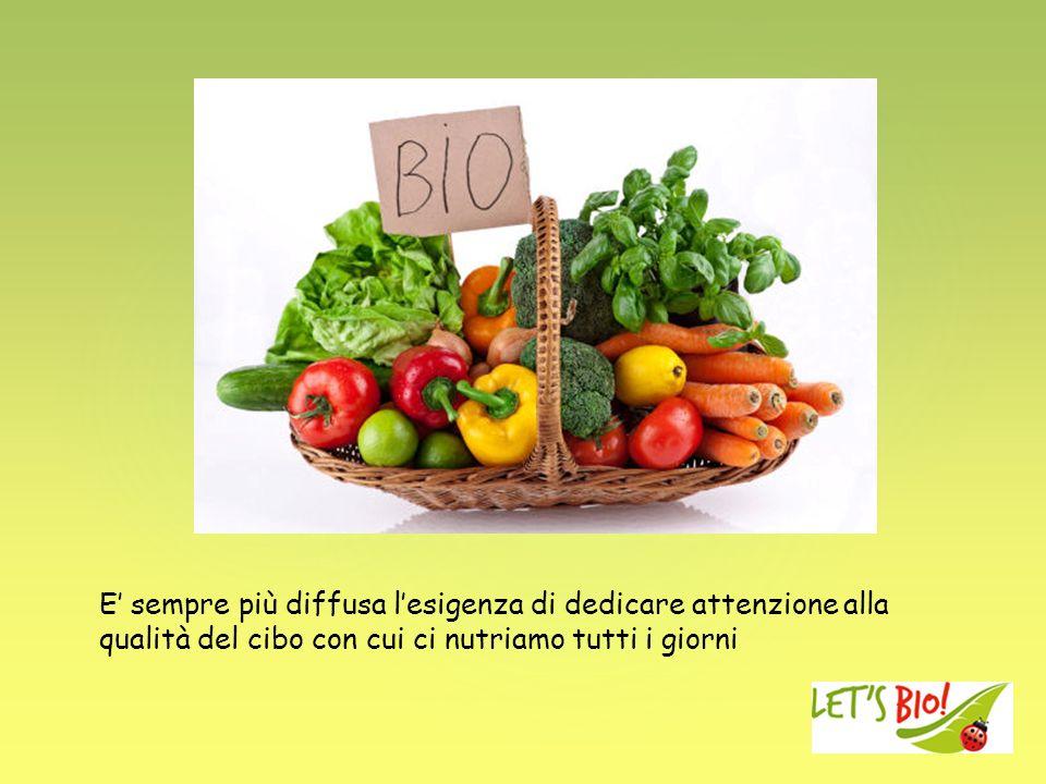 E sempre più diffusa lesigenza di dedicare attenzione alla qualità del cibo con cui ci nutriamo tutti i giorni