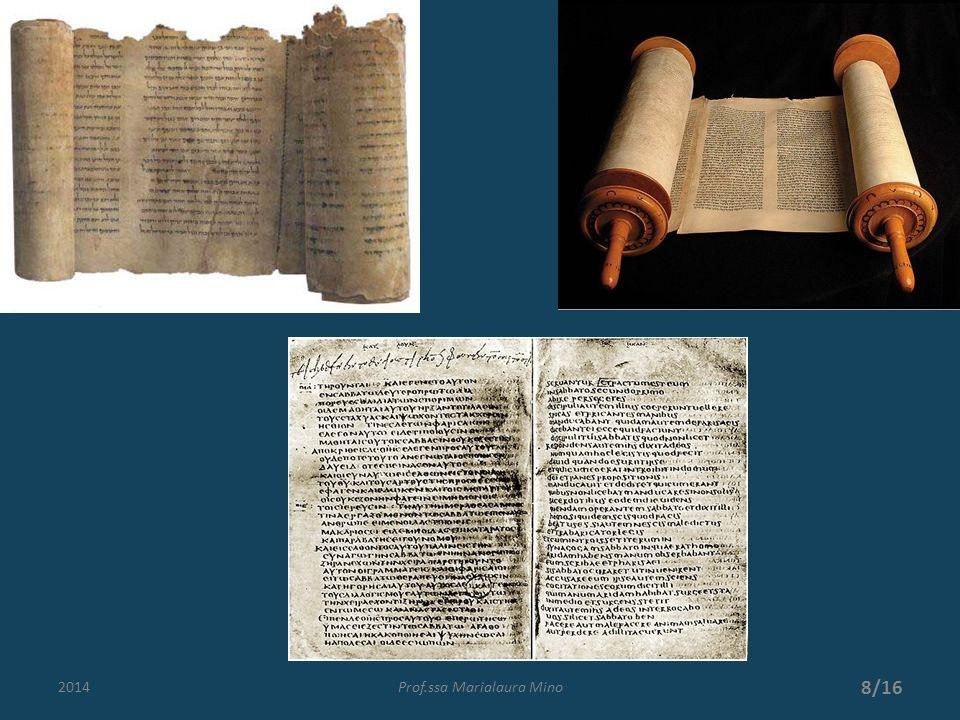 Le lingue della Bibbia La Bibbia ci è arrivata in 3 lingue: per AT ebraico con sezioni in aramaico e greco (LXX); per NT greco (ma anche altre lingue in cui è stata tradotta fin dallantichità).