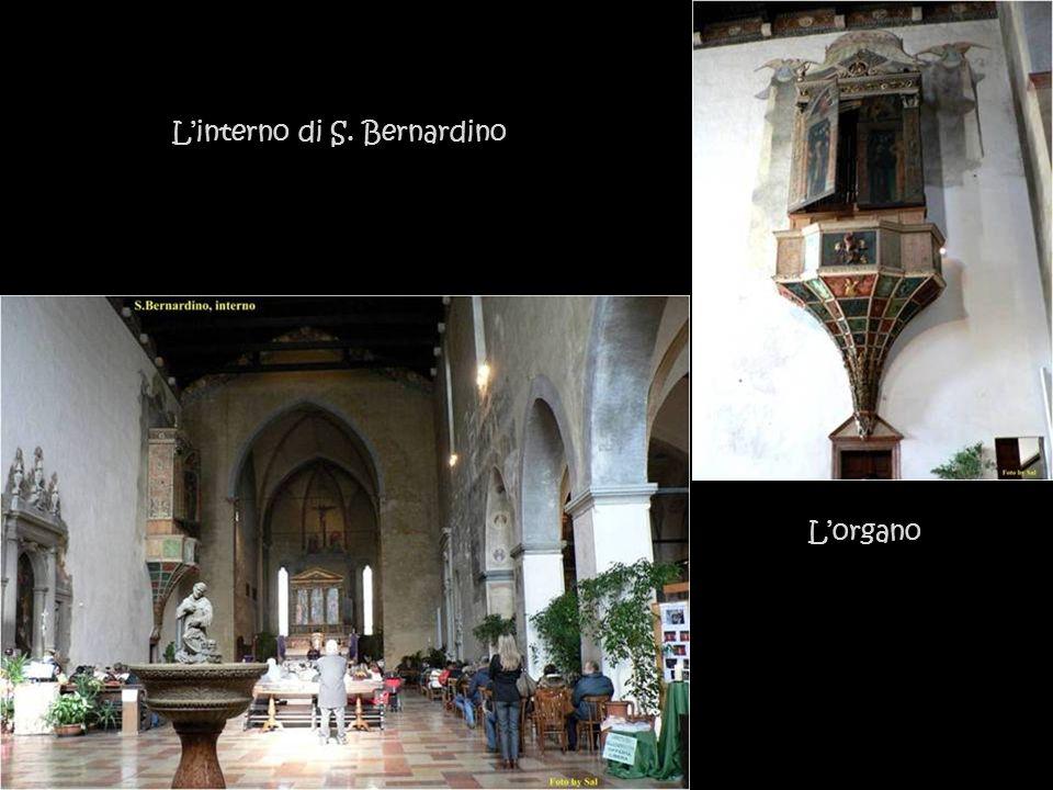 S, Bernardino XV Secolo