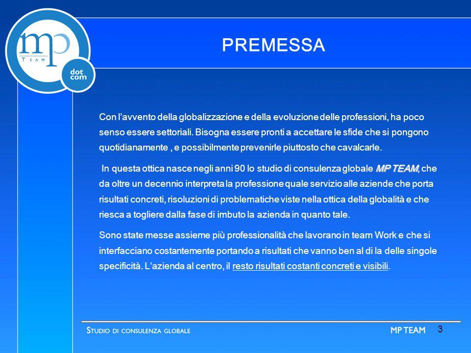 www.mp-team.net 2 -Consulenza e Gestione Aziendale -Consulenza e Gestione Fiscale - Consulenza del Lavoro - Consulenza Legale - Consulenza, Gestione e Aggiornamento Siti Web - Certificazioni e Sistemi di Qualità