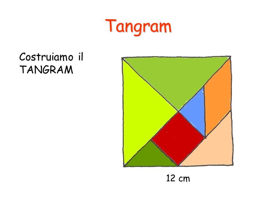 Tangram Costruiamo il TANGRAM 12 cm