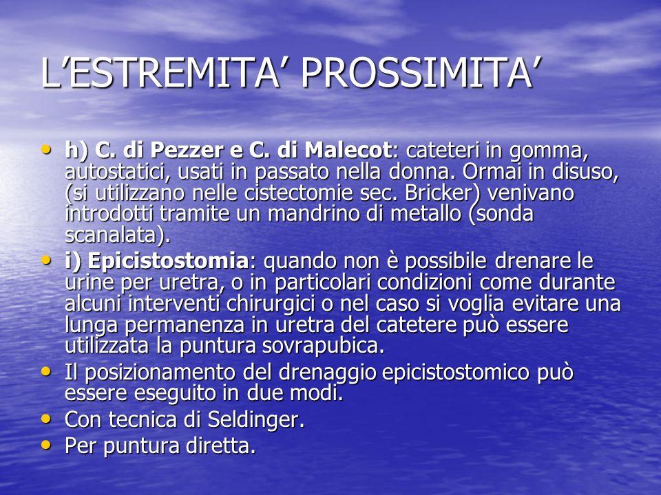 LESTREMITA PROSSIMITA h) C.di Pezzer e C.