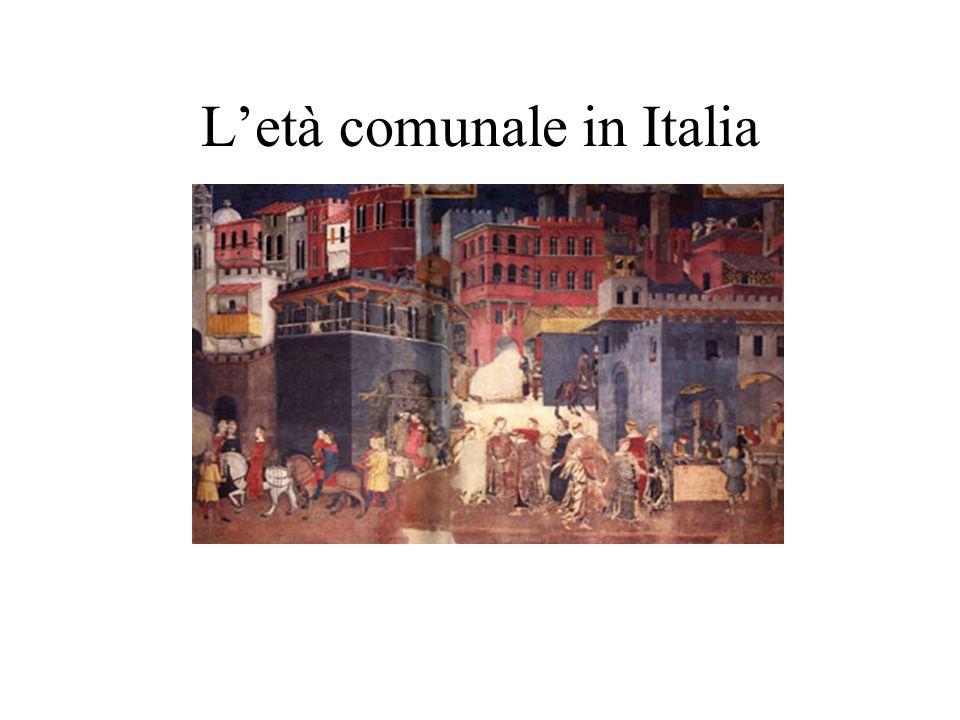 Letà comunale in Italia