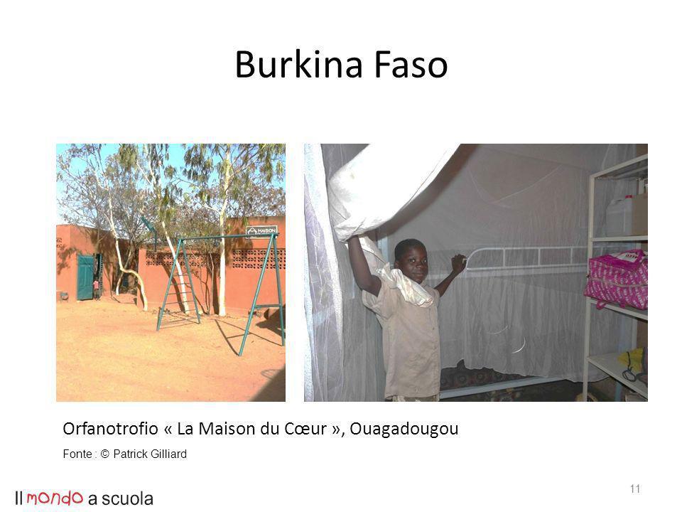 Burkina Faso 11 Orfanotrofio « La Maison du Cœur », Ouagadougou Fonte : © Patrick Gilliard
