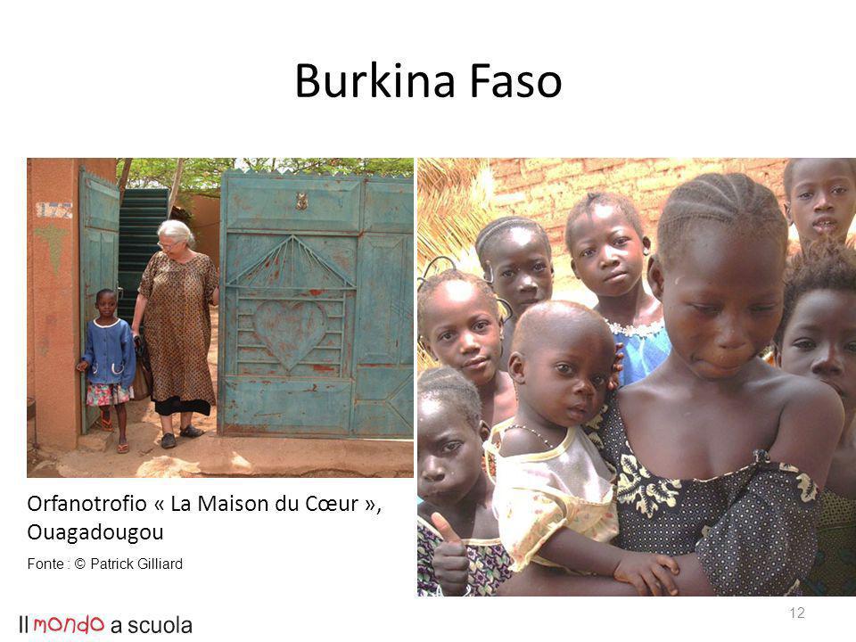 Burkina Faso 12 Orfanotrofio « La Maison du Cœur », Ouagadougou Fonte : © Patrick Gilliard