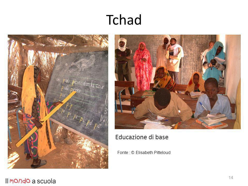 Tchad 14 Educazione di base Fonte : © Elisabeth Pitteloud