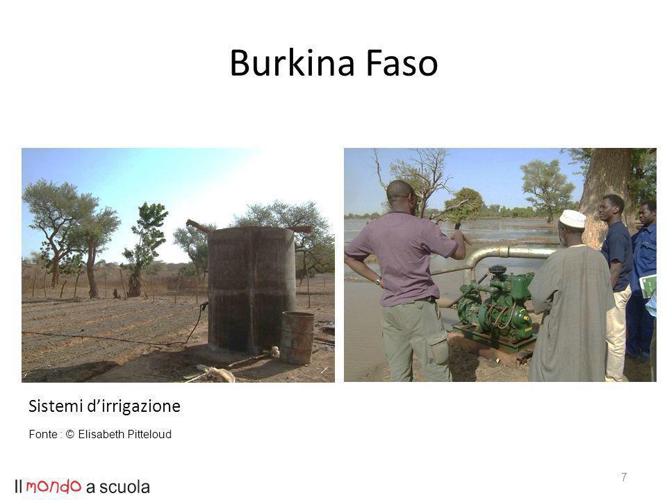 Burkina Faso 7 Sistemi dirrigazione Fonte : © Elisabeth Pitteloud