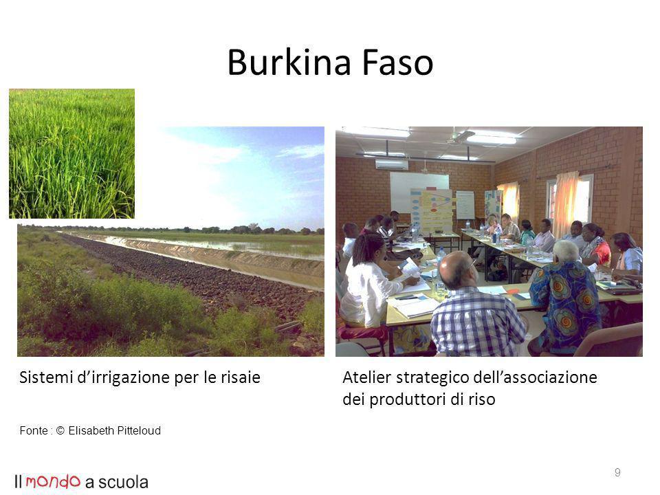 9 Sistemi dirrigazione per le risaieAtelier strategico dellassociazione dei produttori di riso Fonte : © Elisabeth Pitteloud