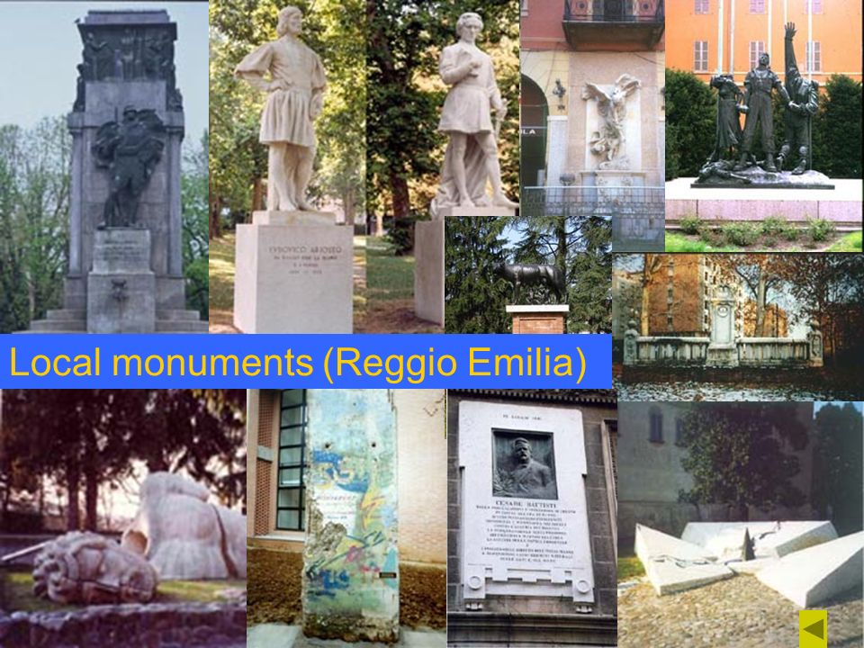 Local monuments (Reggio Emilia)
