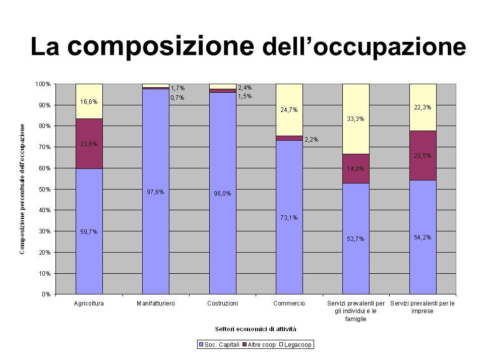 La composizione delloccupazione