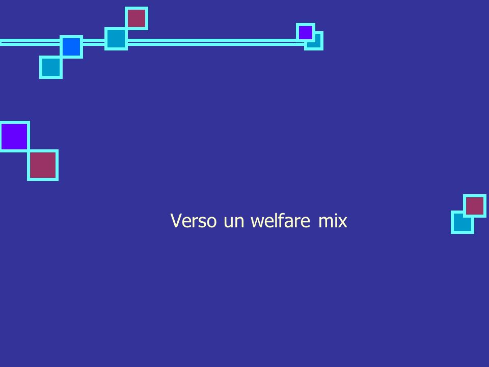 Verso un welfare mix