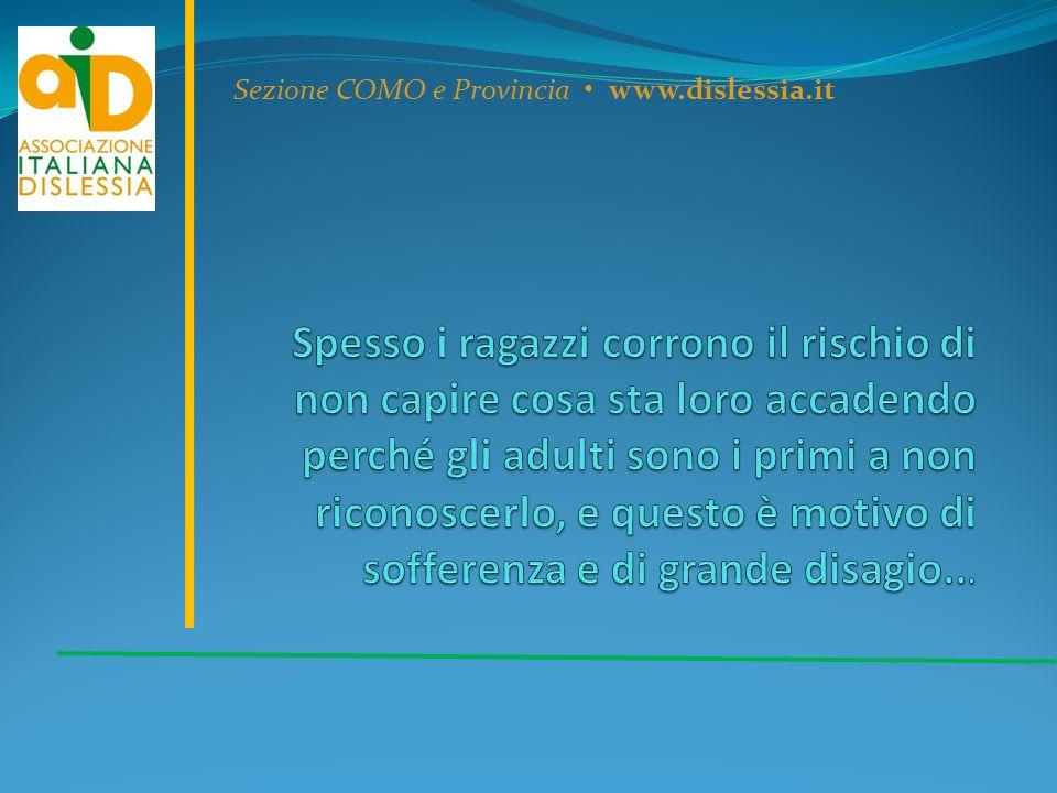 Sezione COMO e Provincia www.dislessia.it