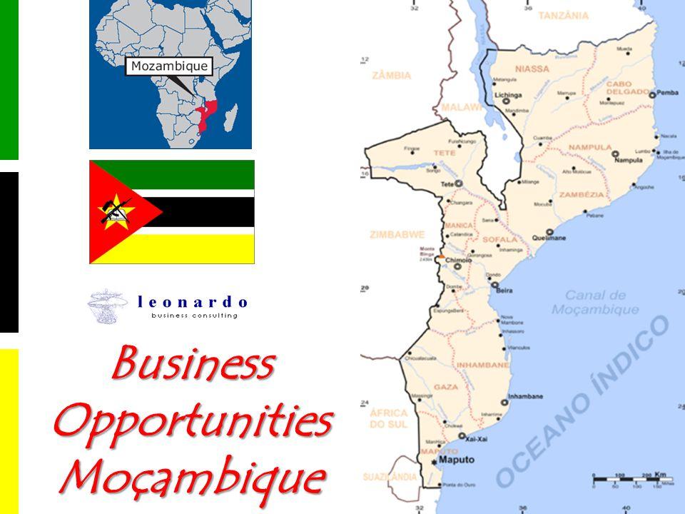 Turismo Destinazione turistica di rilievo grazie a: grande ricchezza culturale e paesaggistica stabilità politica Il settore attrae capitali stranieri (Sudafrica, Oriente, in aumento quelli europei) Contributo al PIL per quasi il 3% Maputo riceve 300.000 visitatori lanno – 95 milioni USD Il governo favorisce lo sviluppo di un turismo delite Il governo vuole investire nella promozione delle opportunità (stima 18 milioni USD/anno) Infrastrutture e collegamenti aerei 17