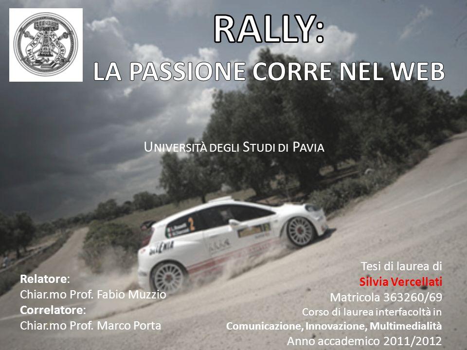 Si parla di Rally per: Tragedie Partecipazione di personaggi famosi