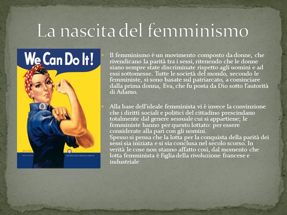 Indubbiamente la vita delle donne oggi è molto diversa da quella delle loro antenate e non solo nell Occidente: le donne stanno facendo passi avanti anche in Sud America ed in Estremo Oriente e cercano di mantenere le loro conquiste.