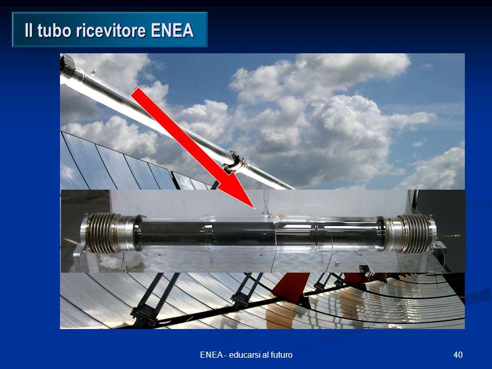 40ENEA - educarsi al futuro Il tubo ricevitore ENEA