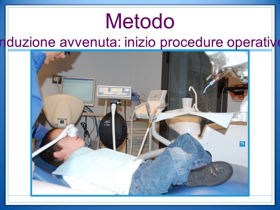 Metodo Induzione avvenuta: inizio procedure operative