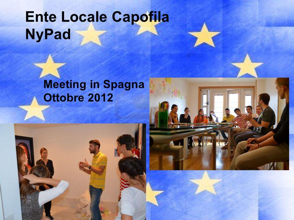 Ente Locale Capofila NyPad Meeting in Spagna Ottobre 2012