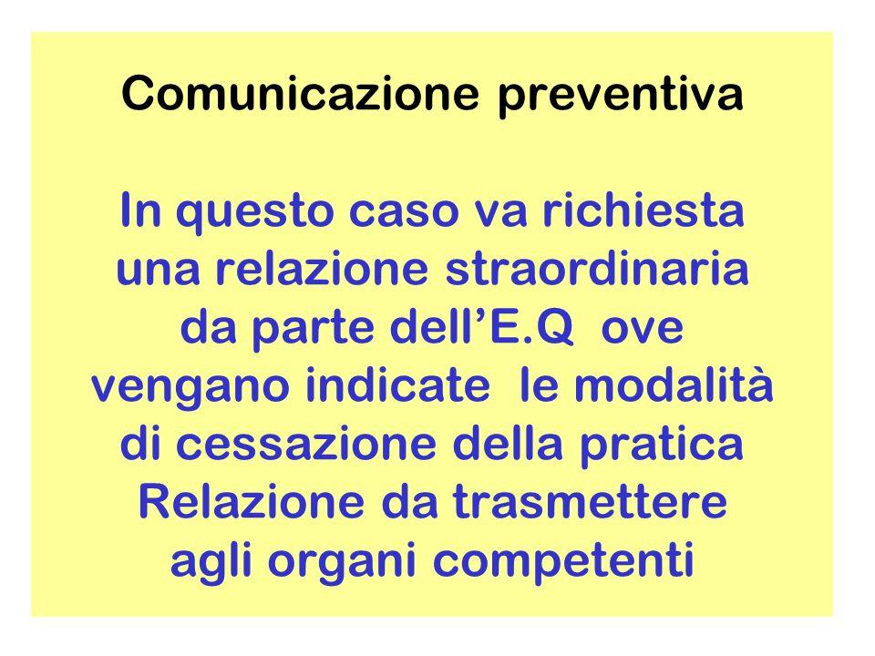 Capo VIII protezione sanitaria BENESTARE Prima dellinstallazione deve essere acquisita dallE.Q.