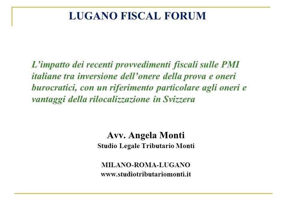 …continua Quando i proventi tassati in misura agevolata siano prevalenti lautorità fiscale italiana potrebbe contestare lo status di soggetto white.