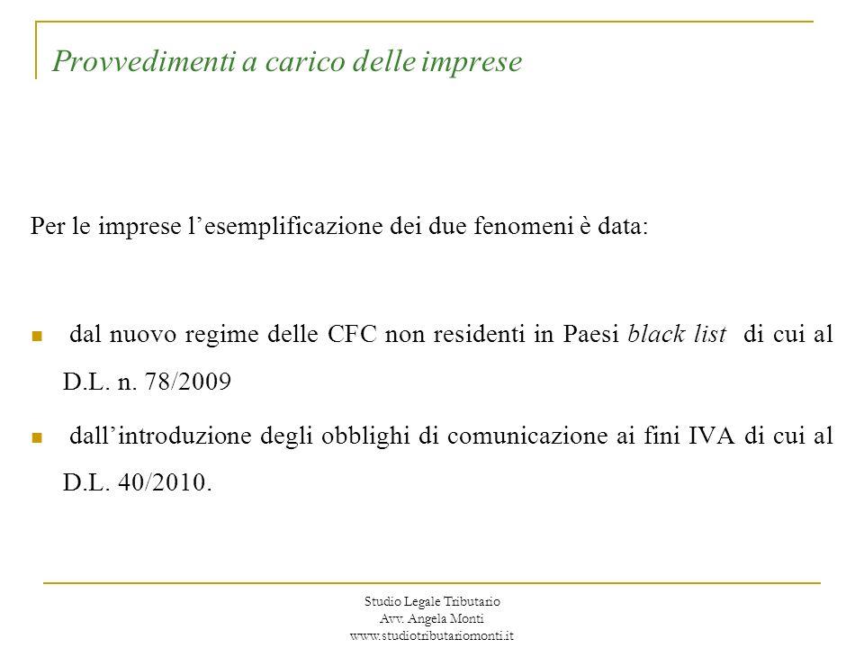 Il regime CFC: disapplicazione Art.167, comma 8-ter, TUIR: Secondo quanto stabilito dal nuovo co.